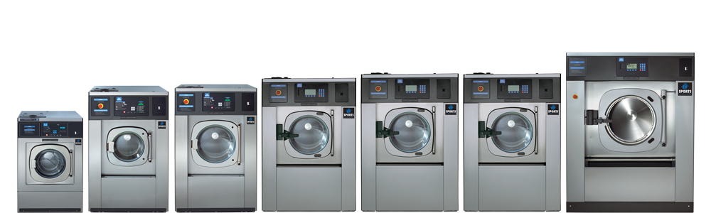 Sports Laundry Systems Washer-exctractor line-up