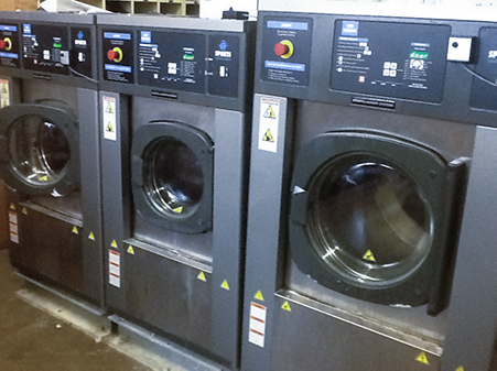 Sports Laundry Equipment Installed at Rice University