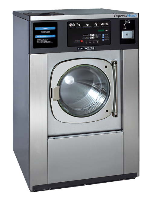 Card & Coin Operated Washers | Continental Girbau