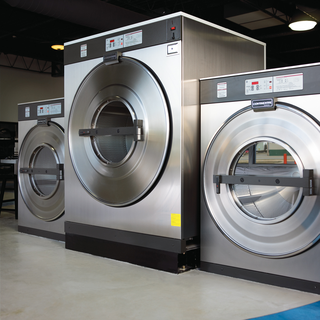 L-Series Large Capacity Coin Washer | Continental Girbau