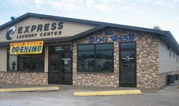 miles city express laundry exterior